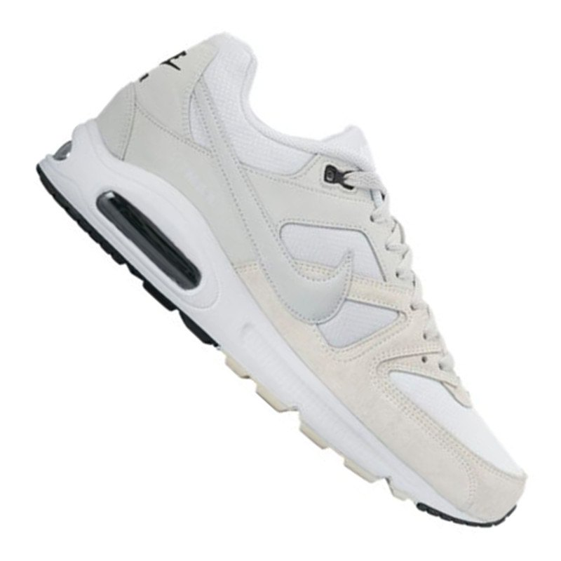 nike air max command sneaker weiss grau f102 weiss. Black Bedroom Furniture Sets. Home Design Ideas
