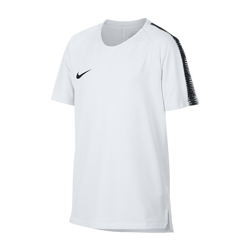 Nike Breathe Squad Top kurzarm Kids F100 - Weiss