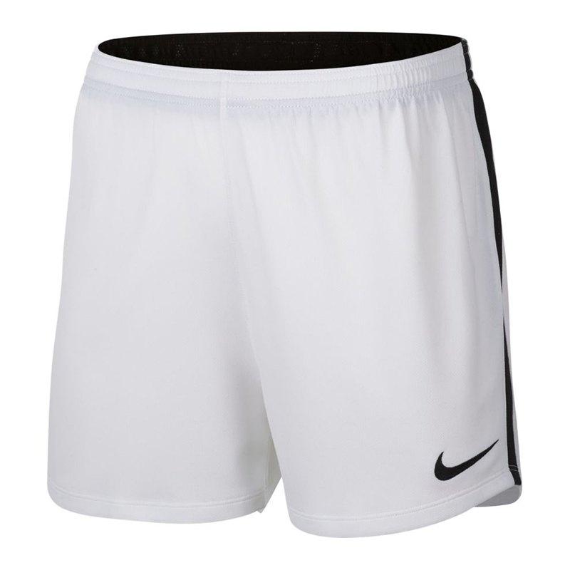Nike Dry Academy Football Short Damen Weiss F100 - weiss
