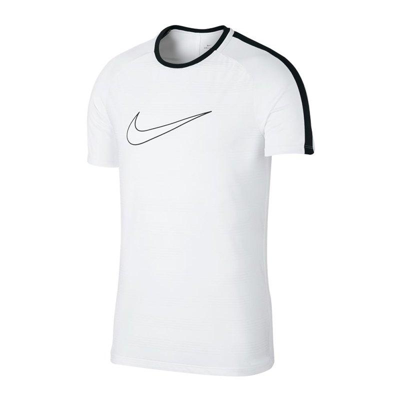 Nike Dry Academy T-Shirt GX2 Weiss F100 - weiss