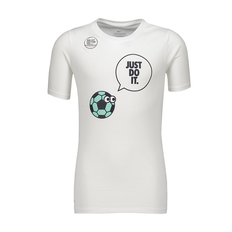 Nike Dry Talking Tee T-Shirt Kids Weiss F100 - weiss