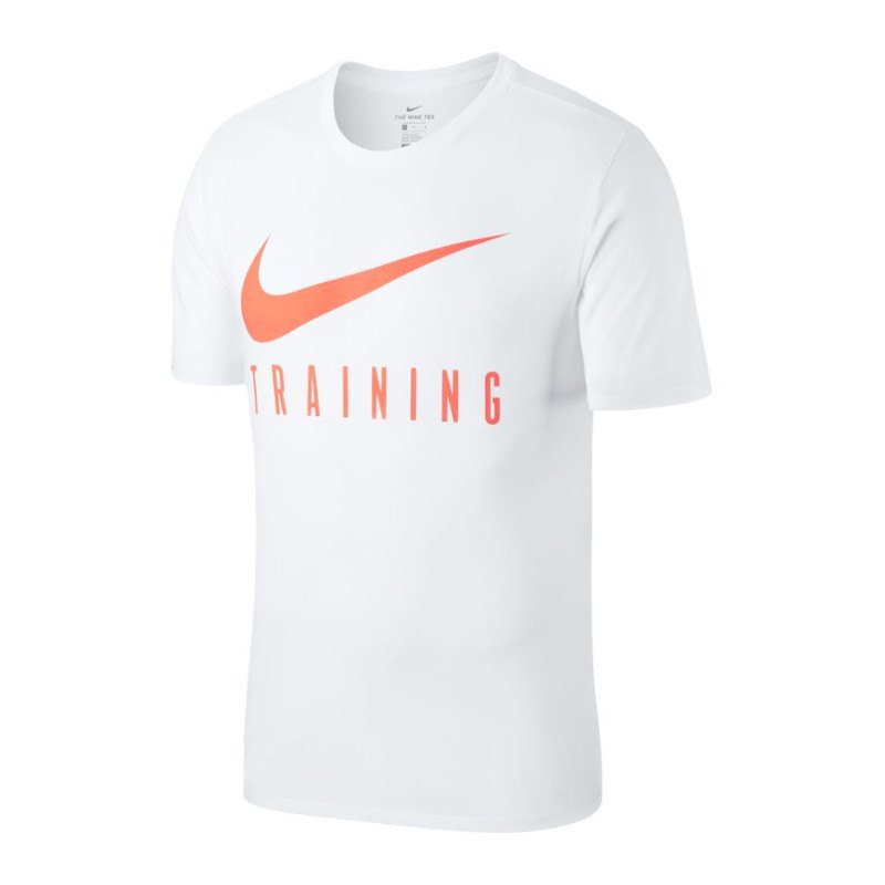 nike dry tee t shirt training weiss f103 kleidung. Black Bedroom Furniture Sets. Home Design Ideas