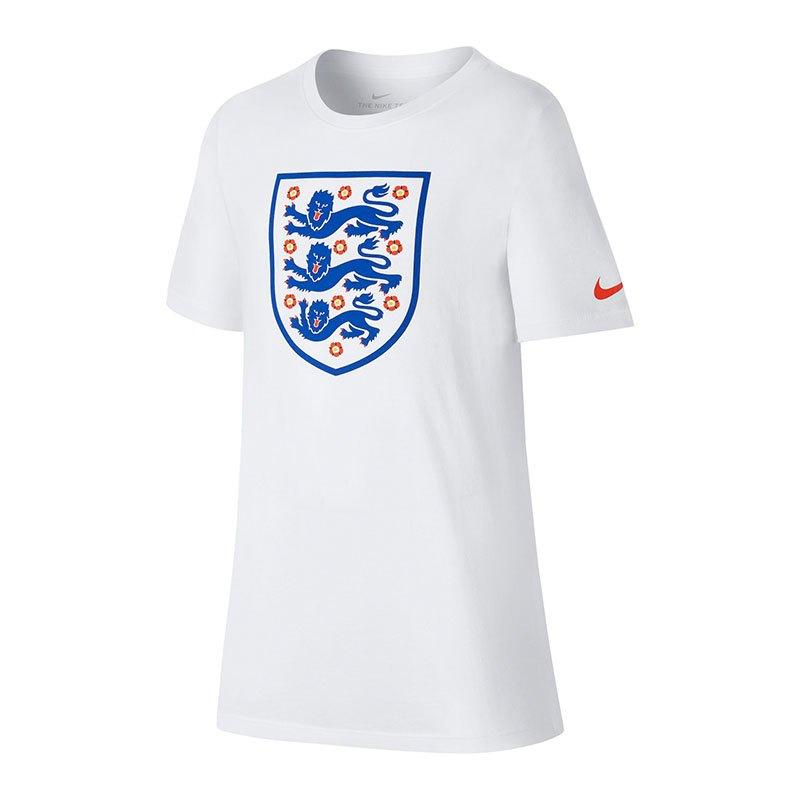 Nike England Crest Tee T-Shirt Kids Weiss F100 - weiss