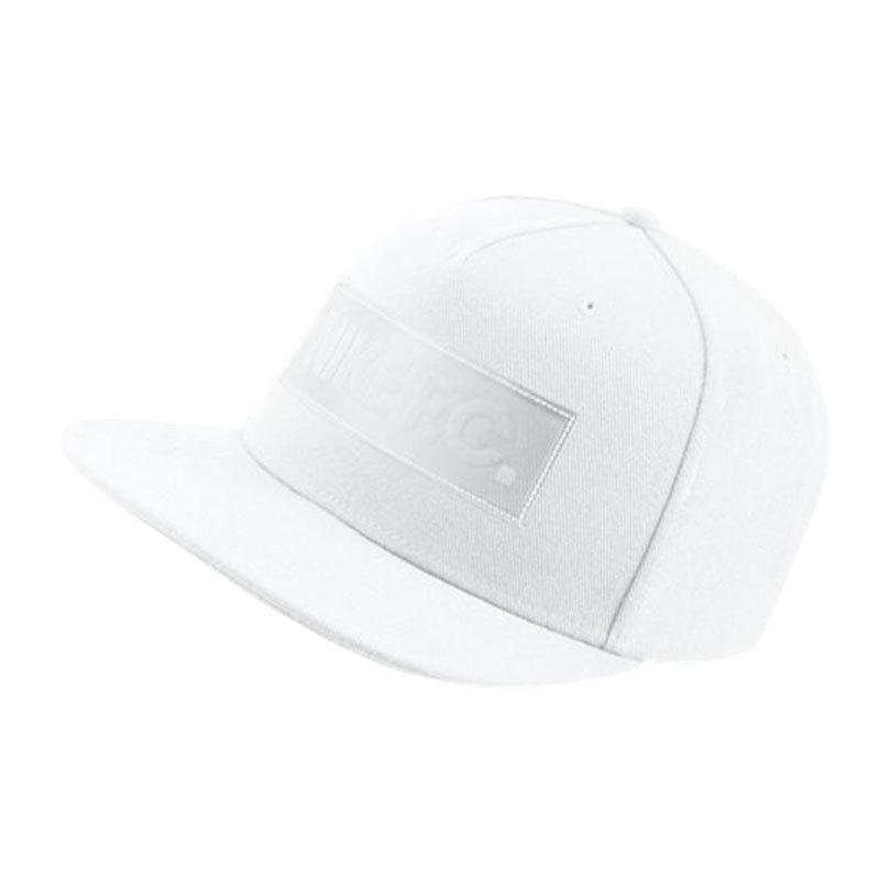 Nike F.C. True Cap Kappe Weiss F100 - Weiss