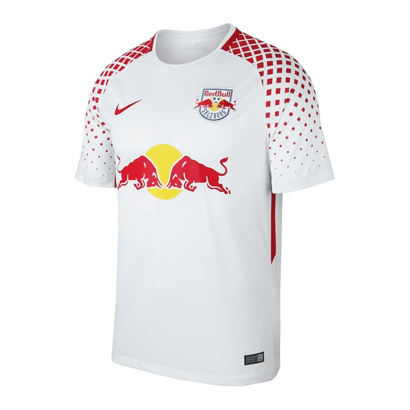 nike fc red bull salzburg trikot home 17 18 f101 heimtrikot herrentrikot shortsleeve. Black Bedroom Furniture Sets. Home Design Ideas