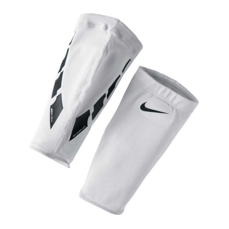 Nike Guard Lock Elite Sleeves Weiss F103 - weiss
