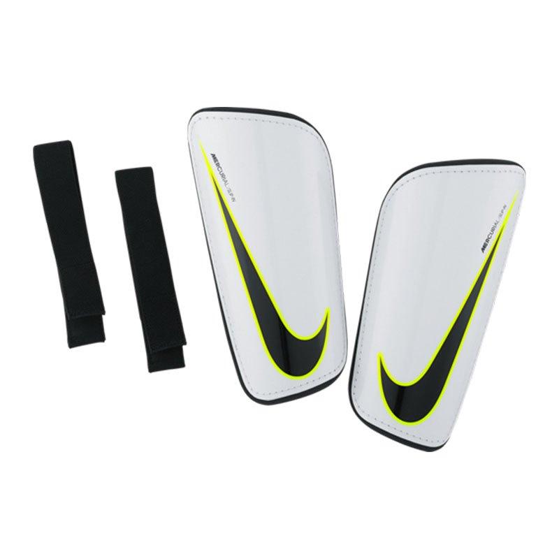 Nike Hard Shell Slip In Schienbeinschoner F100 - weiss
