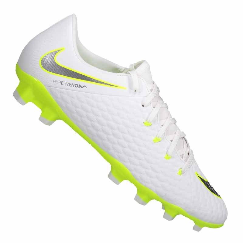Nike Hypervenom III Academy FG Weiss F107 - weiss