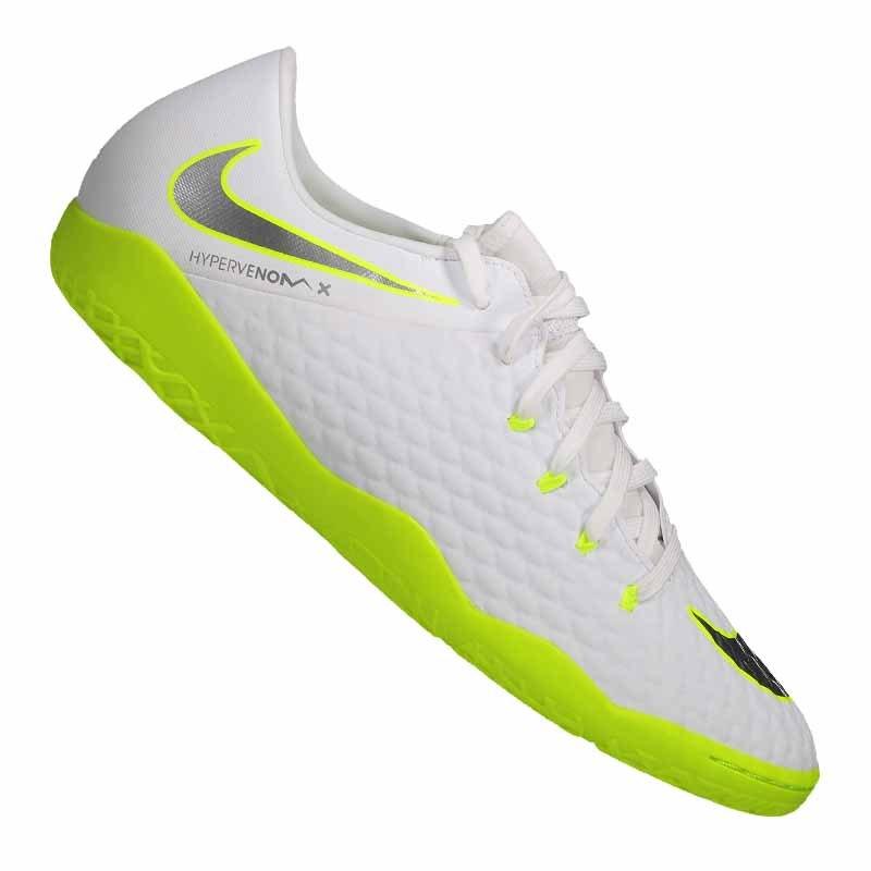 Nike Hypervenom PhantomX III Academy IC Weiss F107 - weiss