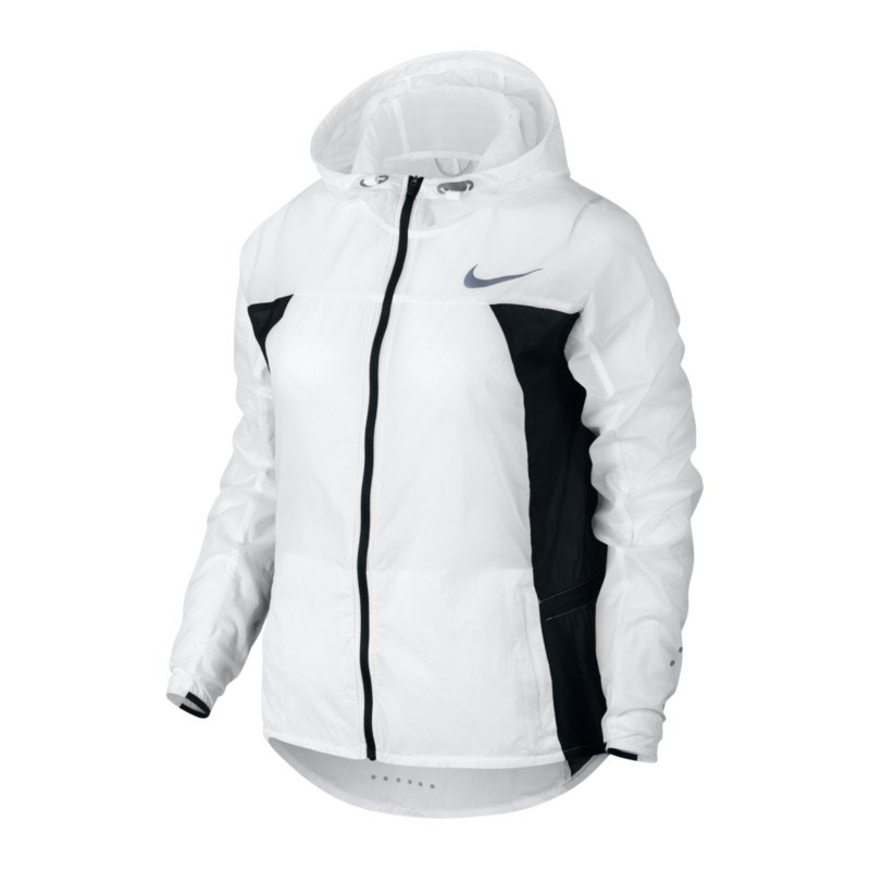 nike impossibly light jacke running damen f100 weiss. Black Bedroom Furniture Sets. Home Design Ideas