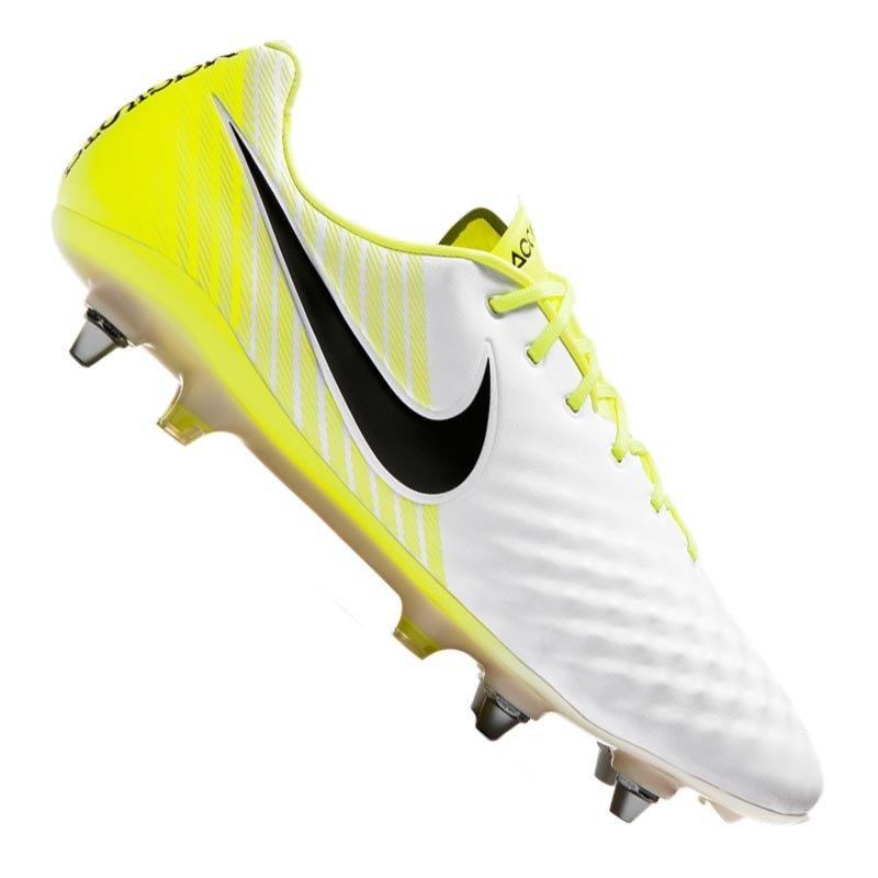 Nike Magista Opus II SG-Pro Weiss Gelb F107 - weiss