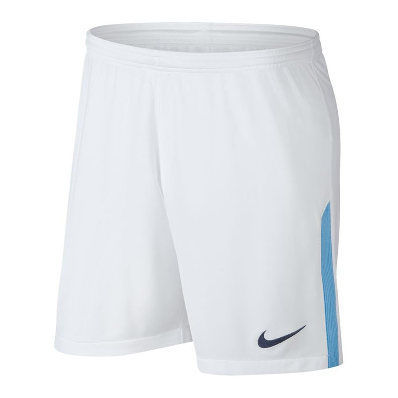 Nike Manchester City FC Short Home Kids 17/18 F100 - weiss