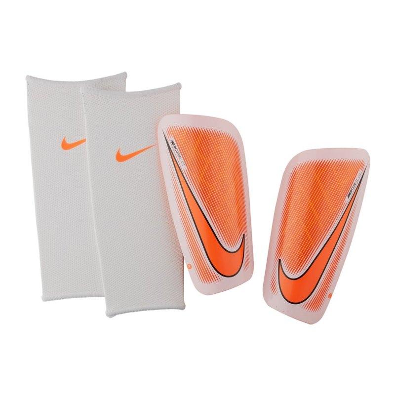 Nike Mercurial Lite Schienbeinschoner Weiss F102 - weiss
