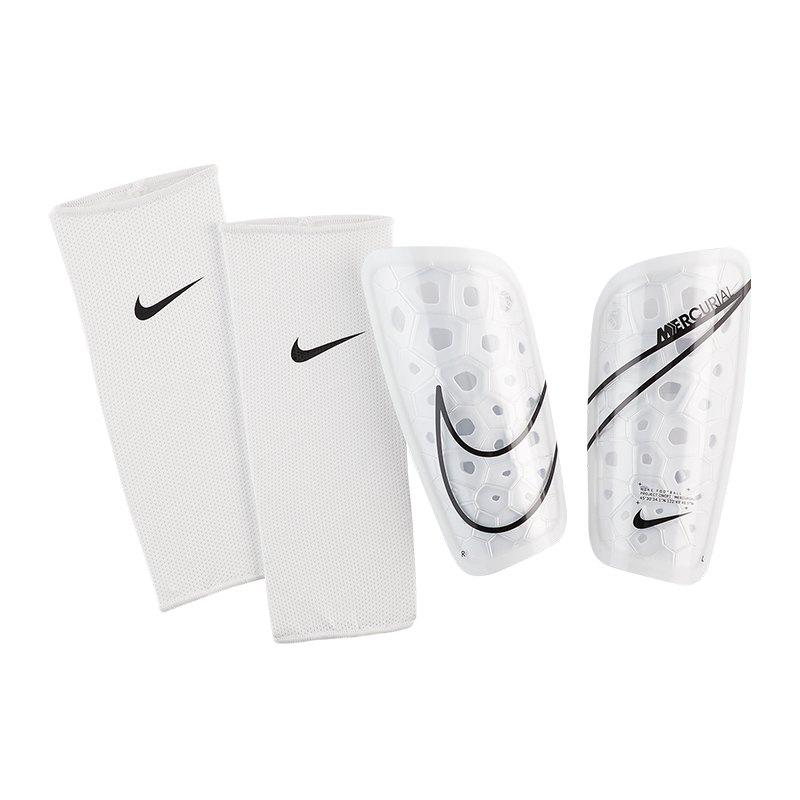 Nike Mercurial Lite Schienbeinschoner Weiss F104 - weiss