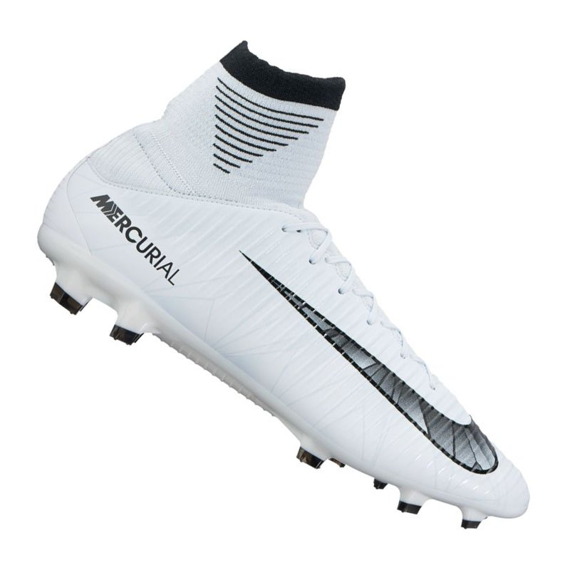 Nike Mercurial Veloce III CR7 DF FG Weiss F401 - weiss