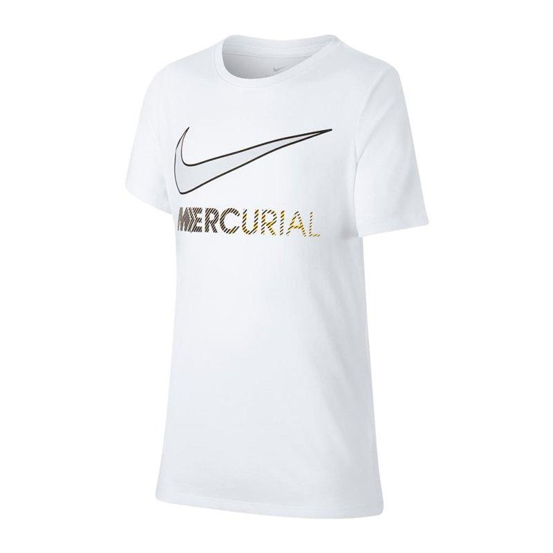 Nike Neymar Dry Boot T-Shirt Kids Weiss F100 - weiss