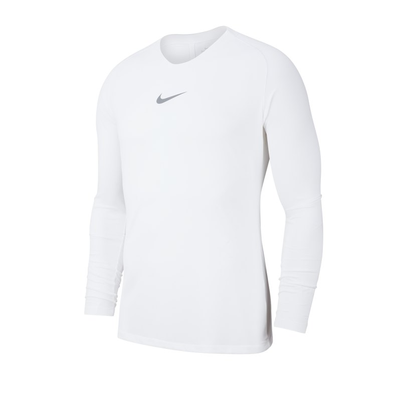 Nike Park First Layer Top langarm Weiss F100 - weiss