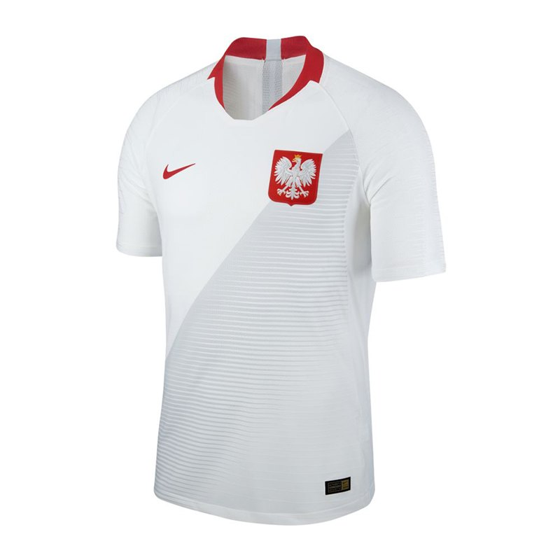 Nike Polen Authentic Trikot Home WM 18 Weiss F100 - weiss