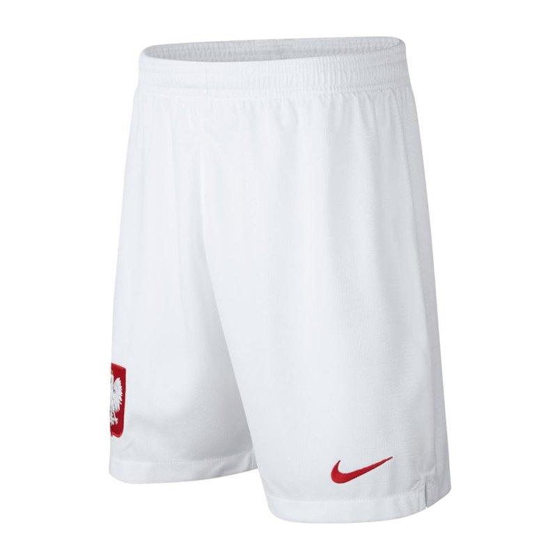 Nike Polen Short Home Kids WM 2018 Weiss F100 - weiss