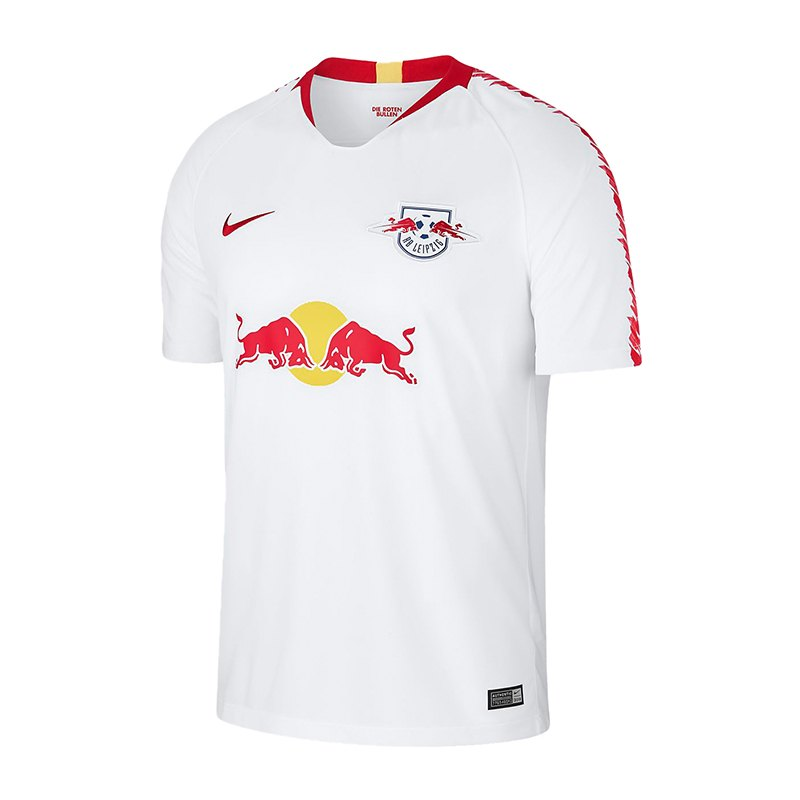 Nike RB Leipzig Trikot Home 2018/2019 Weiss F101 - weiss