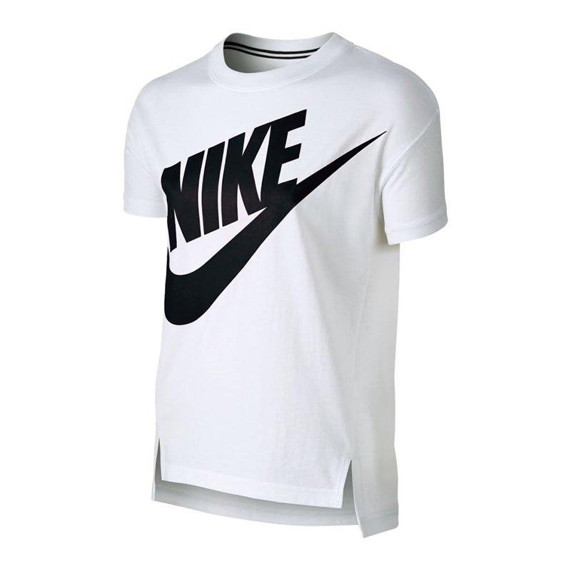 nike signal tee t shirt kids weiss f101 kurzarm shirts. Black Bedroom Furniture Sets. Home Design Ideas