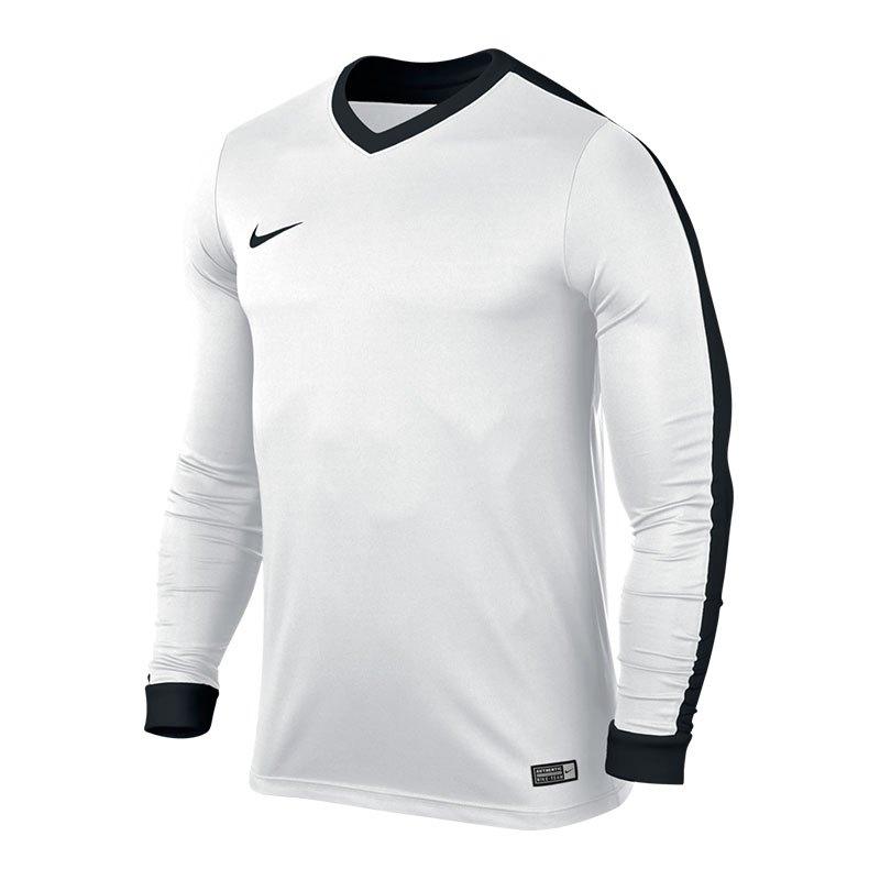 Nike Striker IV Trikot langarm Weiss Schwarz F103 - weiss