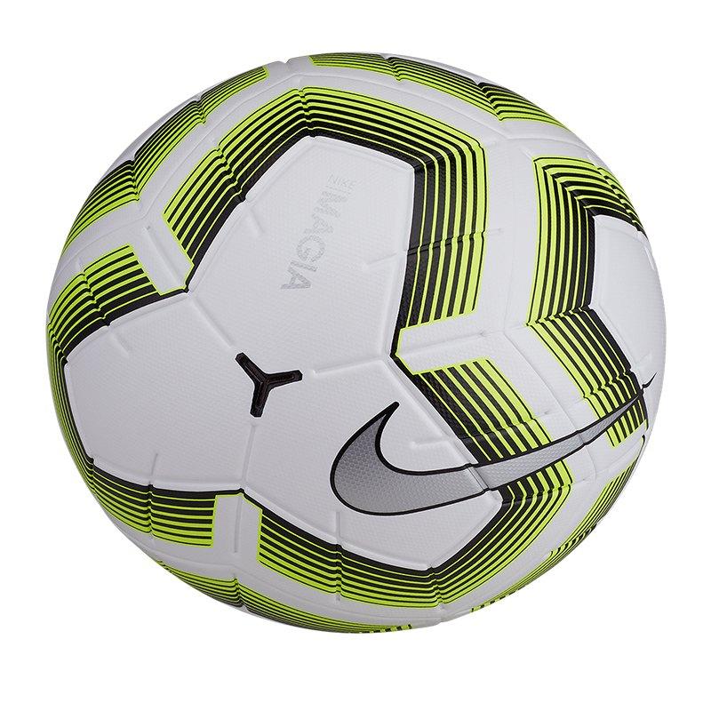 Nike Team Magia II Fussball Weiss F100 - weiss