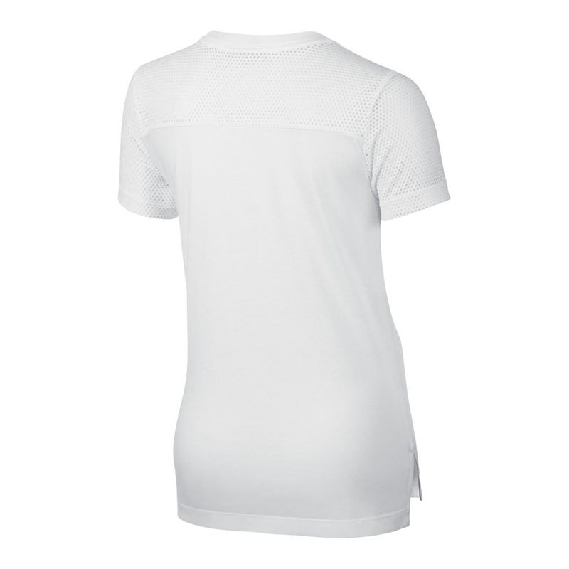 nike top t shirt kids weiss f100 t shirt freizeitshirt. Black Bedroom Furniture Sets. Home Design Ideas