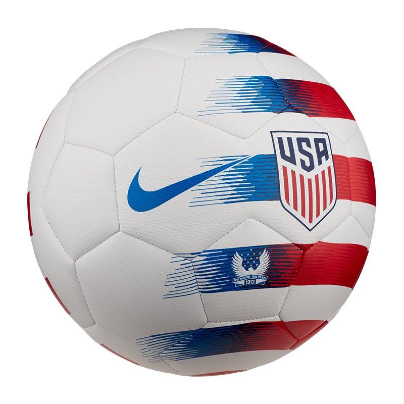 Nike USA Prestige Fussball Weiss F100 - weiss
