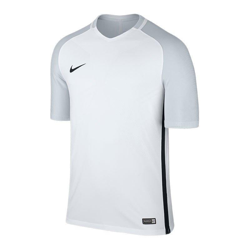 Nike Vapor I Trikot kurzarm Weiss Grau F100 - weiss