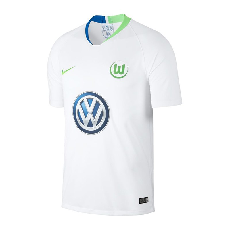 Nike VfL Wolfsburg Trikot Away 2018/2019 F101 - weiss