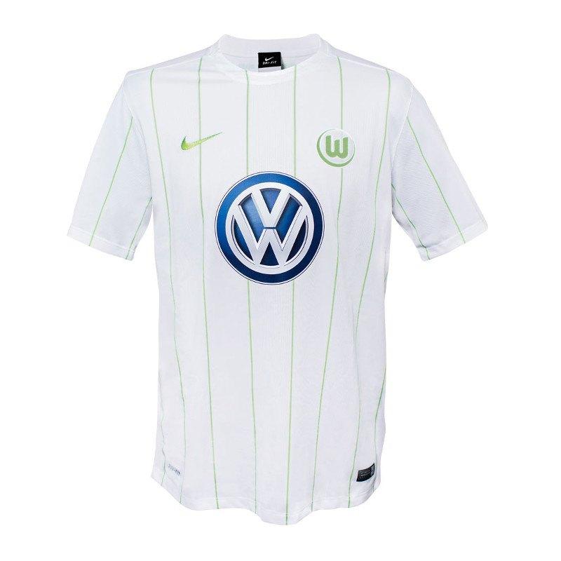 Nike VfL Wolfsburg Trikot Away Kids 2016/2017 F100 - Weiss