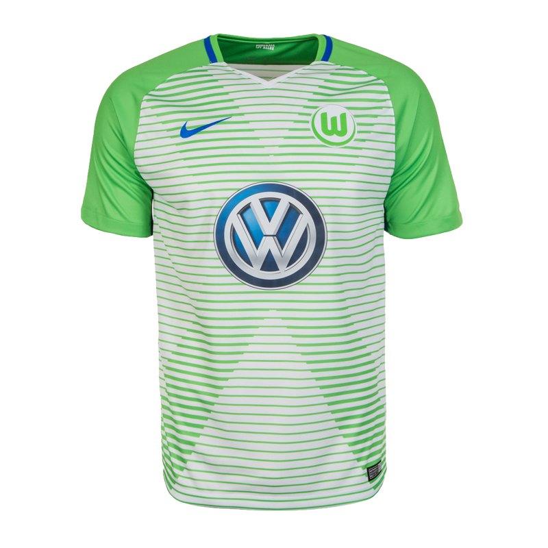 Nike VfL Wolfsburg Trikot Home 2017/2018 F101 - weiss
