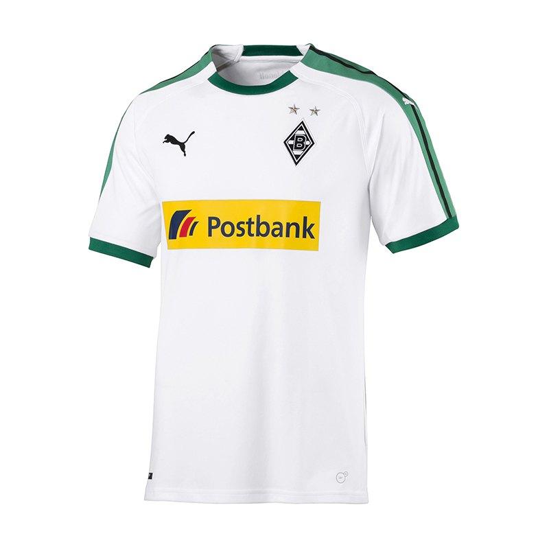 PUMA Borussia Mönchengladbach Trikot Home 2018/2019 Weiss F01 - weiss