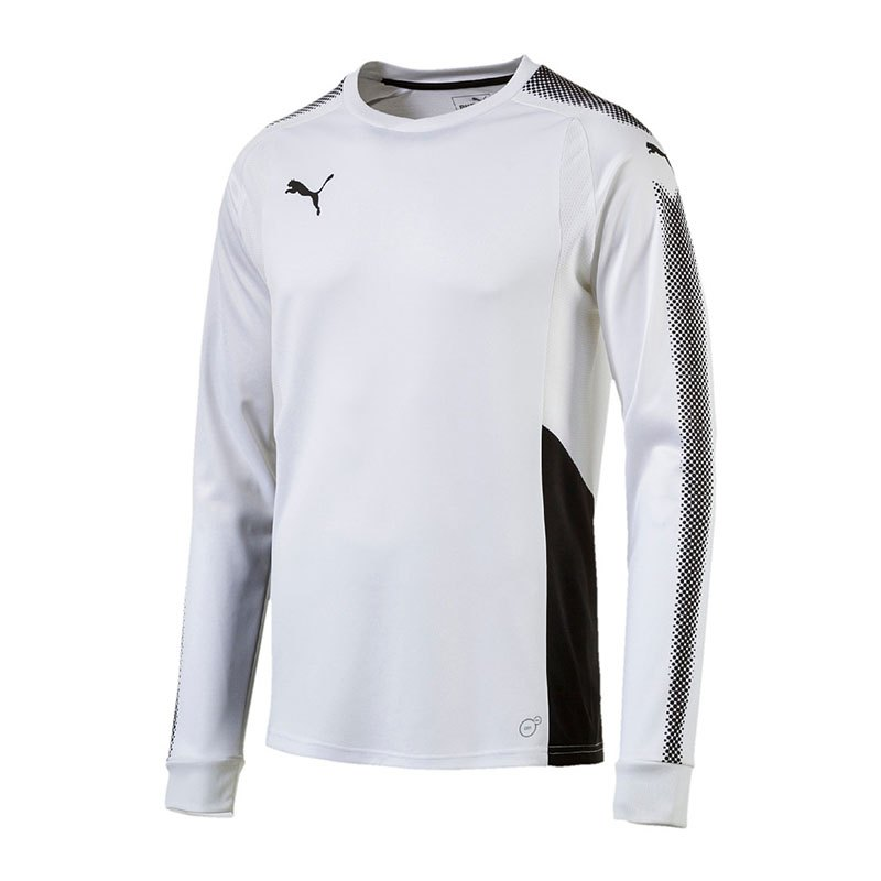 puma gk shirt torwarttrikot weiss schwarz f04 weiss. Black Bedroom Furniture Sets. Home Design Ideas