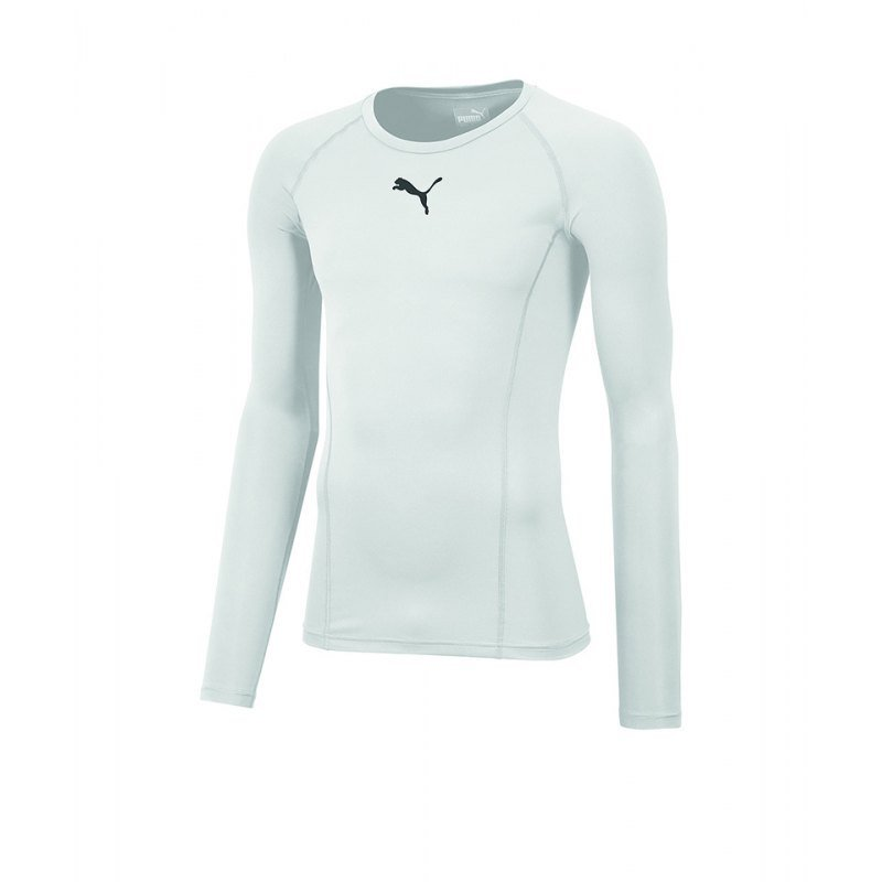 PUMA LIGA Baselayer Warm Longsleeve Kids F04 - weiss