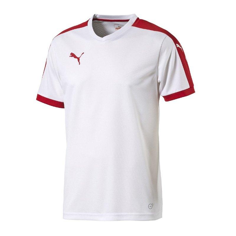 PUMA Pitch Shortsleeved Shirt Trikot Weiss F12 - weiss