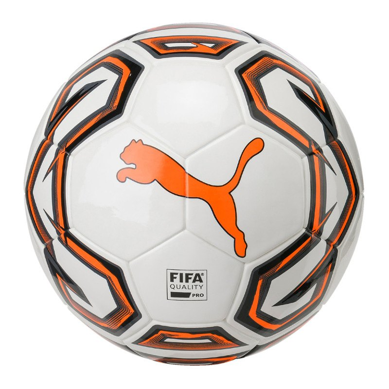PUMA Pro Futsalball Weiss Orange F01 - Weiss