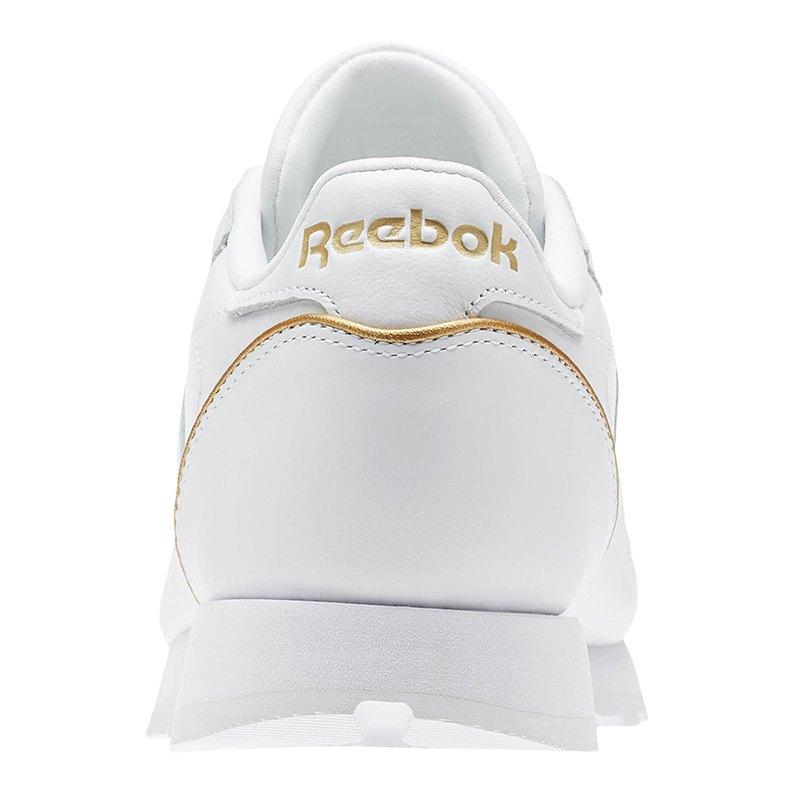 reebok classic leather hw sneaker damen weiss gold. Black Bedroom Furniture Sets. Home Design Ideas