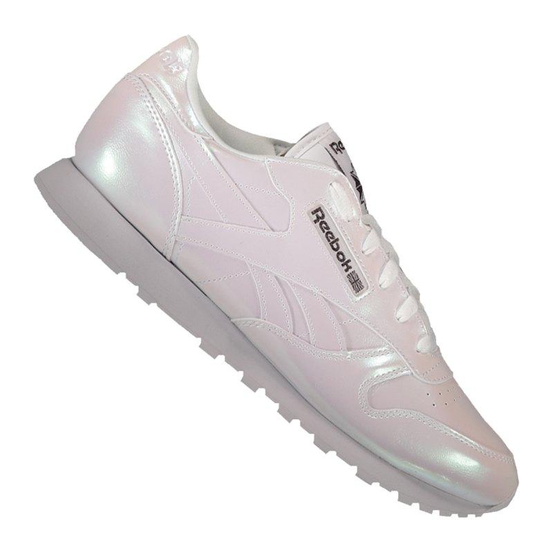 Reebok Classic Leather PP Sneaker Damen Weiss - weiss