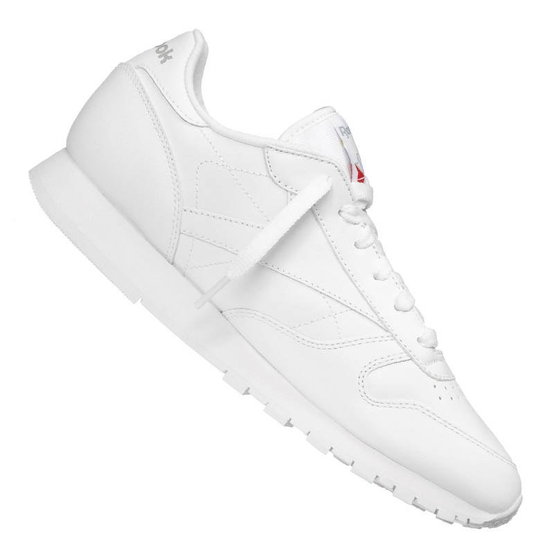 Reebok Classic Leather Sneaker Damen Weiss - weiss