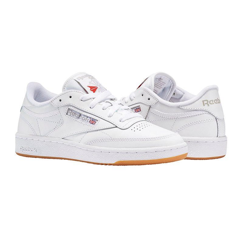reebok club c 85 sneaker weiss training alltag running sportswear lifestyle. Black Bedroom Furniture Sets. Home Design Ideas