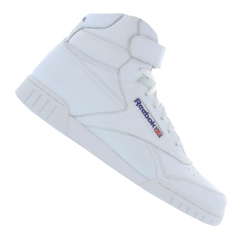 reebok ex o fit high sneaker weiss weiss. Black Bedroom Furniture Sets. Home Design Ideas