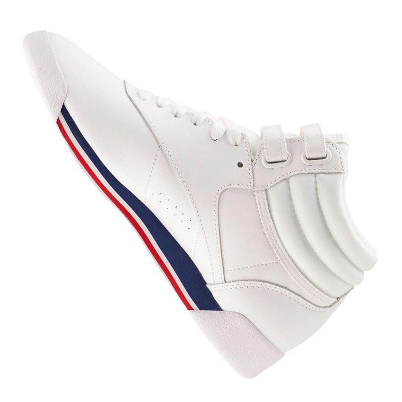 Reebok F/S Hi Sneaker Damen Weiss Blau Rot