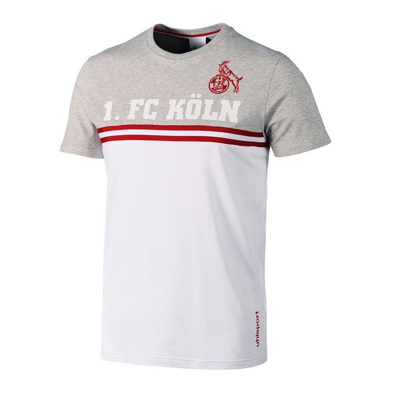 Uhlsport 1. FC Köln Sportswear Shirt Weiss Grau - weiss