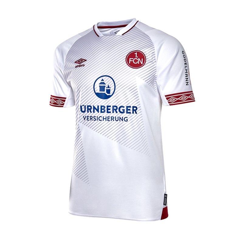 Umbro 1. FC Nürnberg Trikot Away 2018/2019 Weiss - weiss
