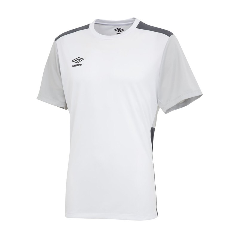 Umbro Training Poly Tee T-Shirt Weiss FEQU - weiss
