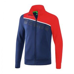erima-5-c-polyesterjacke-kids-blau-rot-fussball-teamsport-textil-jacken-1021906.jpg