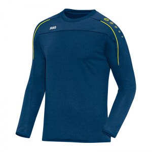 jako-classico-sweatshirt-blau-gelb-f42-trainingswear-sweater-trainingsshirt-teamausstattung-8850.jpg