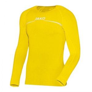jako-longsleeve-comfort-shirt-kids-gelb-f30-langarm-trainingstop-underwear-sport-6452.jpg